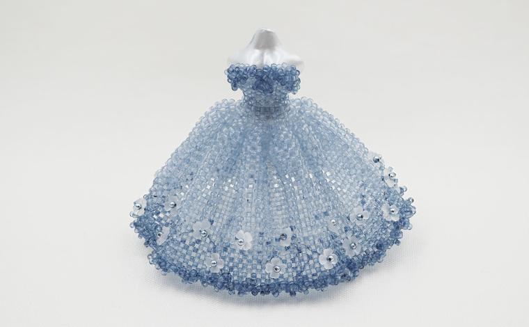 伊藤 真里絵 - 藍 Pure heart ドレス